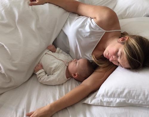 Spavanje sa bebom
